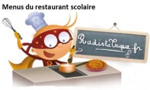 2016 menus restaurant scolaire