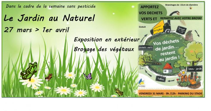 2017 MARS Jardin au naturel - Expo + Broyage